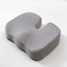 Beautiful Buttocks Memory Foam Seat Cushion for Car Back Support Sciatica Tailbone Pain Relief Pillow Office Chair Cushion seat cushion pillow for office chair 100% memory foam lower back pain relief contoured posture corrector for car wheelchair