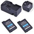 2 шт. 3 6 В 2400 мАч PSP 2000/3000 PSP-S110 батарея + зарядное устройство для Sony PSP2000 PSP3000 консоль