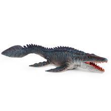 1pcs Dinosaur Figurine Realistic Mosasaurus Ornaments Dinosaur Toys Plastic Simulation Model Educational Figurine Gift For Kids