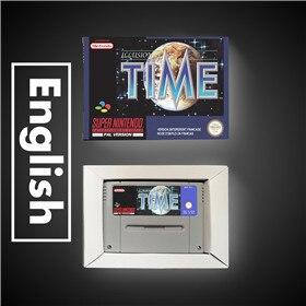 Image 1 - Illusion de temps EUR Version RPG jeu carte batterie économiser avec boîte de vente au détail