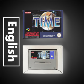Illusion de temps EUR Version RPG jeu carte batterie économiser avec boîte de vente au détail