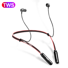 цена на Q9 Wireless Bluetooth Headset Running Neckband Bluetooth Sport Earphone Magnetic Earbuds Stereo Headphone With Microphone PK i10