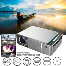 Mini Projector Full 1080P LCD Projector 4k 3500 Lumens HDMI USB 1080p Portable Cinema Smart Wifi Projector vivibright gp7s mini lcd projector 480x320 200lm hdmi usb