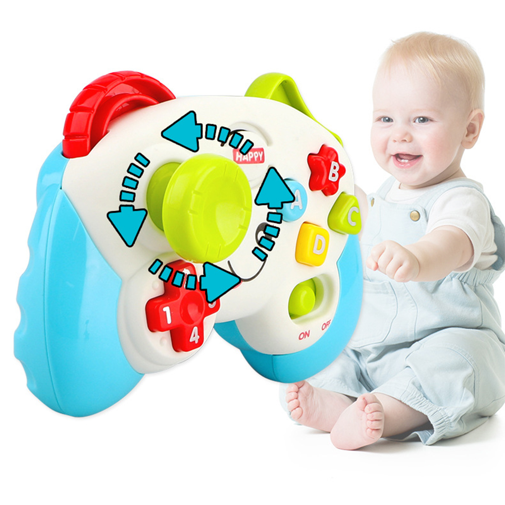 Funny Vocal Toys Baby Game Controller Teaching Early Educational Learn Toy First Words Letters Numbers With Songs Sounds