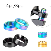Washer-Spacer Bolts Disc-Brake-Caliper Titanium Mounting Bike Bicycle M6 And Convex