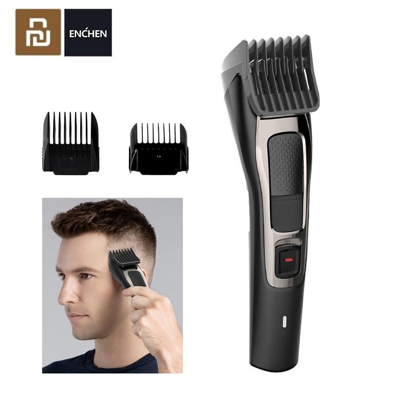 Xiaomi ENCHEN Sharp3S Men's Electric Hair Clipper USB Rechargeable Professional Hair Trimmer Hair Cutter For Men Adult Razor