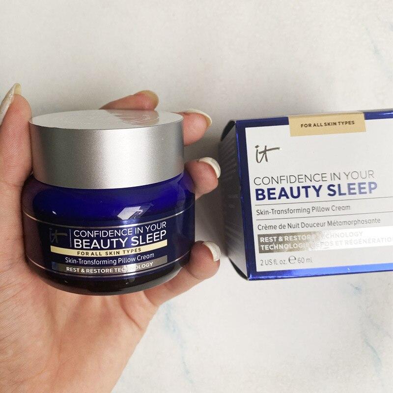 It cosmetics it уверенность в вашей красоте спящий крем для подушки 60 мл крем для сна