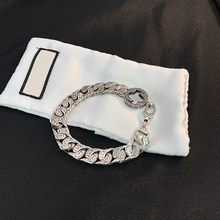 silver 925 jewelry classic retro bracelet for women summer personality hip hop fashion charms fine jewelry holiday gift