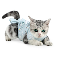 Pet Cat Recovery Suit  Medicine Prevent After Surgery Wear Anti Pet Licking Wounds Healing Clothes Sterilization Care Cleaning
