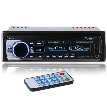 Jsd-520 samochód Mp3 samochód bezprzewodowy odtwarzacz karty Radio samochodowe i dźwięk wideo Mp3 samochodowy sprzęt Audio i wideo odtwarzacz Audio tanie i dobre opinie LESHP CN (pochodzenie) plastic + hardware + electronic Odtwarzacze mp3 0 5kg Black ISO 12PIN no memory