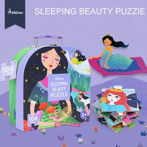 Image 4 - Mideer 子供大ジグソーパズルセット 100 + 個赤ちゃんのおもちゃ恐竜妖精物語睡眠美容教育玩具子供のためギフト