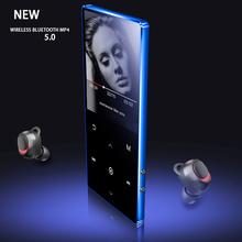 Mp4 odtwarzacz Bluetooth Mp3 odtwarzacz ekran dotykowy przenośny telewizor wideo Walkman Sport Mp3 Walkman odtwarzacz muzyczny 2020 nowy odtwarzacz multimedialny tanie tanio TEXNANO ALAC AIFF Flac 400x240 2 quot Dyktafon E-czytanie książki Radio FM Wyjście wideo Przeglądarka zdjęć Zegar światowy