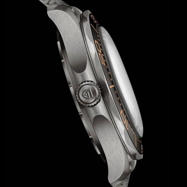 2021 New PAGANI DESIGN Men's Mechanical Wristwatches Luxury Automatic Watch For Men Luminous Diving Steel Watch Japan NH35 Clock 3