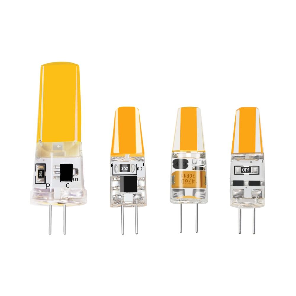 G4 G9 Mini LED Lamp Bulb AC/DC 12V 220V 10W 20W 35W 50W COB Replace Halogen Spotlight Chandelier LED Lighting Lights