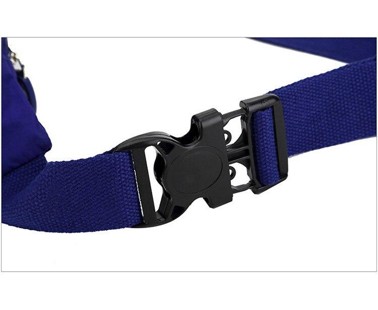 alta capacidade multi-purpose moda cintura sacos de