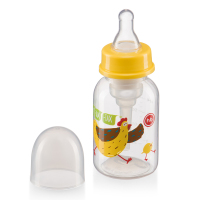 Bottles Happy Baby 10021 feeding bottle feeding bottle drinking Cup baby for children boys and girls newborn Lemon 120ml