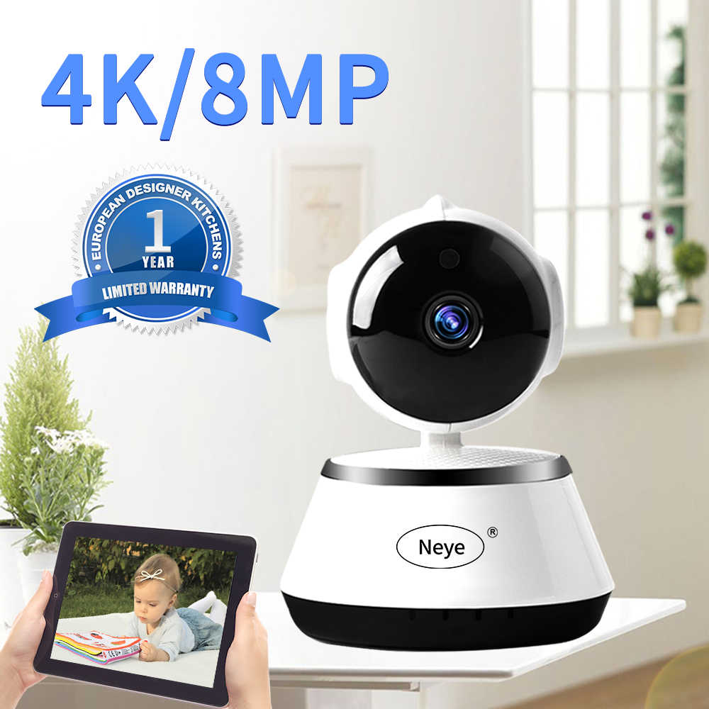 N_eye 8mp 1080P Hd Cloud Wireless Ip Camera Intelligent Auto Tracking Menselijk Home Security Surveillance Cctv Netwerk Wifi Camera