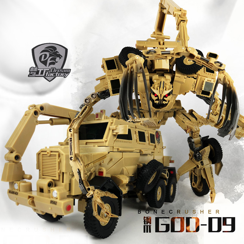 2019 nouveau Tf Dream Factory God09 dieu-09 Bonecrusher film Leader classe Action Figure Transformation jouets enfants cadeau figurine modèle