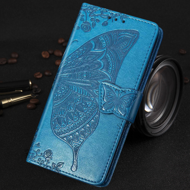 Flip PU Leather Case For Samsung Galaxy S10 S9 + S8 Plus S7 Edge S20 Plus Ultra Note 8 9 10 Retro Wallet Soft Coque Cover