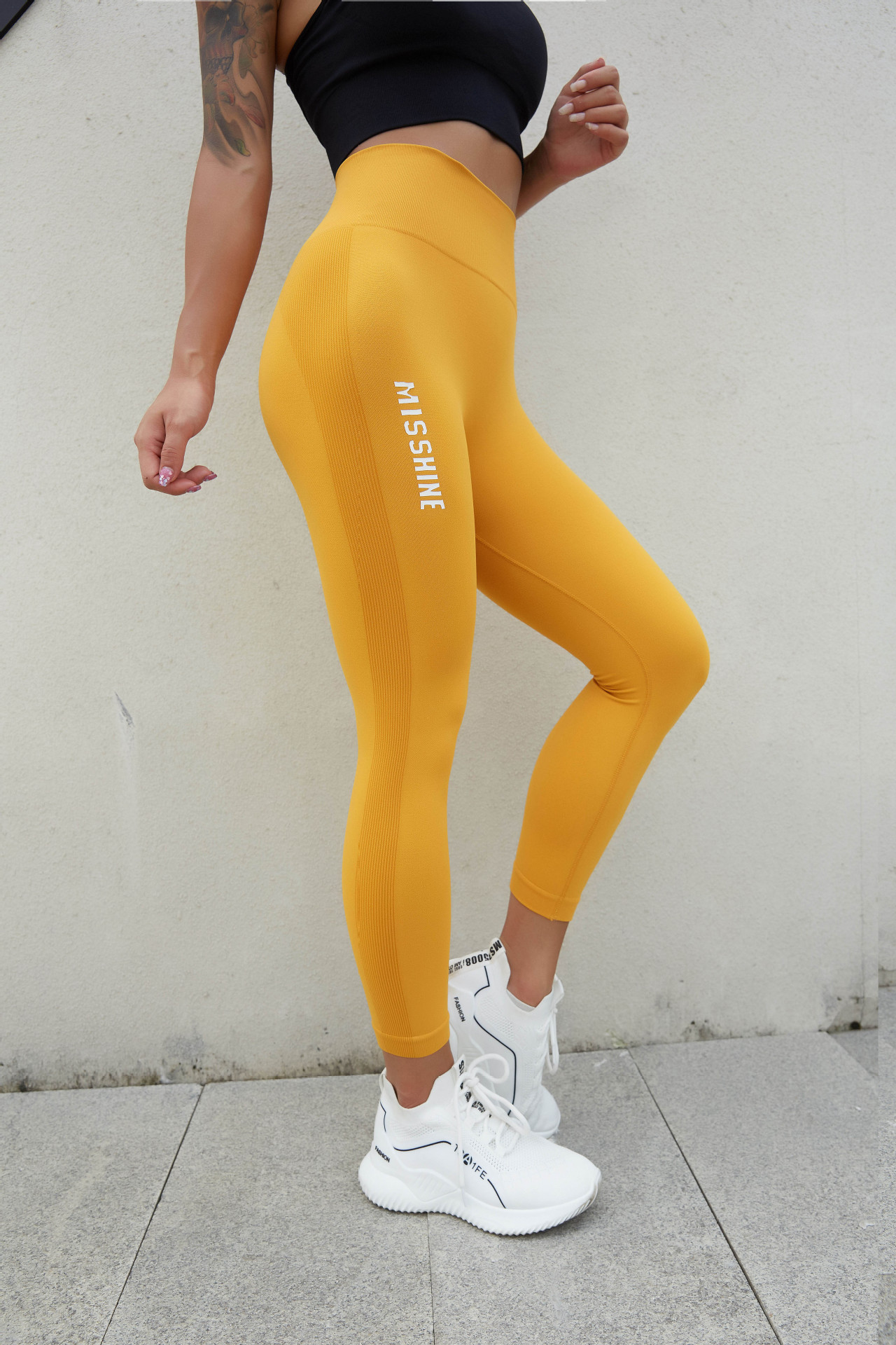 Legging sport gainant
