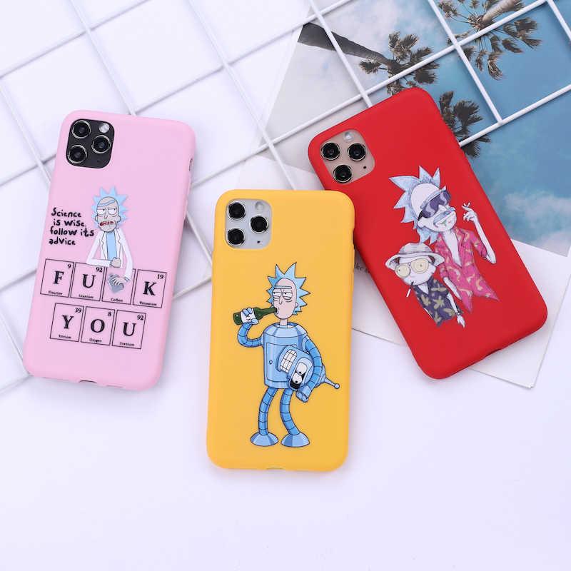 Capa de celular de desenho animado para iphone, capa para iphone 11 pro max x xs xr max 7 8 7plus 8 capa de silicone macio 6s se