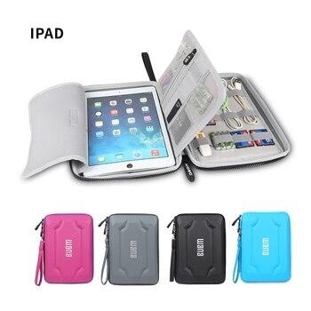 BUBM EVA bag for iPad or iPad mini tablet organizer case digital accessories portable hard shell case