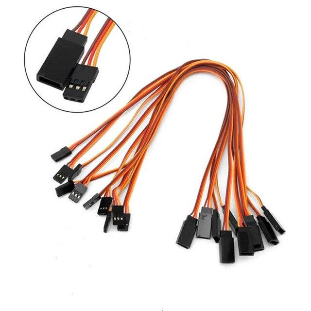 5 шт 150 /200/ 300 / 500 мм сервоудлинитель кабель для rc futaba