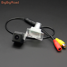 BigBigRoad For Mercedes Benz AMG C Class C63S Coupe 2017 Vehicle Wireless Rear View Parking CCD Camera HD Color Image Waterproof