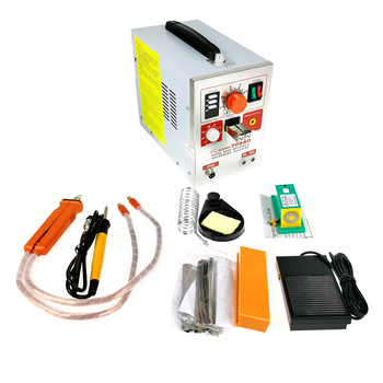 Spot Welding Machine LED Lighting SUNKKO 709AD With 70B Pen Small Handheld Lithium Battery 18650 High-power Adjustable