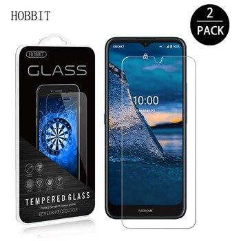 Перейти на Алиэкспресс и купить 2 шт. для Nokia C5 Endi 6,52 дюйм9H 2.5D прозрачное закаленное стекло Защита для экрана C5 Endi 0,25 мм ультра-тонкая пленка против царапин HD