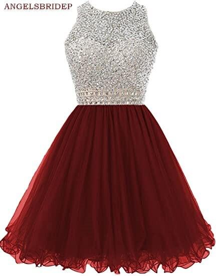 ANGELSBRIDEP-High-Neck-Homecoming-Dresses-Sparkly-Crystal-Beading-Vestidos-de-festa-Tulle-Formal-Graduation-Formal-Party (2)