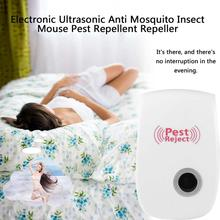 Ultrasonic Pest Repeller Rodent Control Indoor Cockroach Mosquito Insect Killer EU/US Plug Electronic mosquito repellent