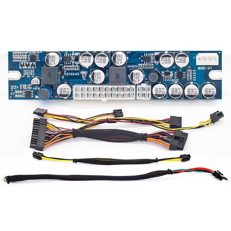 Dc Atx ピーク Psu 12V 300 120w ピコ Atx スイッチ鉱業 Psu 24Pin ミニ Itx Dc Atx Pc 電源 Ssd ミニ Pc コンピュータ
