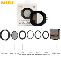 NiSi V6 CPL Filter Holder 100mm System Pro Circular Polarizer Camera Filter filtre For Canon Nikon Sony Olympus FUJIFILM Camera