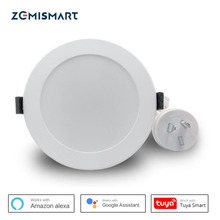 Zemismart AU Type SAA 3.5 inch WiFi RGBCW Led Downlight Voice Control by Alexa Echo Google Home Assistant Home Automation
