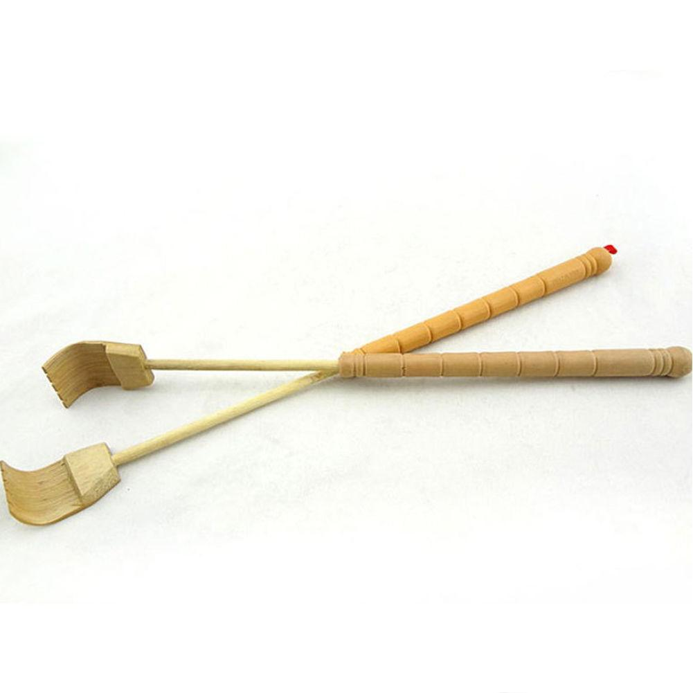 Bamboo Telescopic Scratcher Extendable Bamboo Wooden Telescopic Flexible Anti Itch Self Massager Claw Extender Health Accessorie