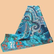 HuaJun écharpe carrée en soie