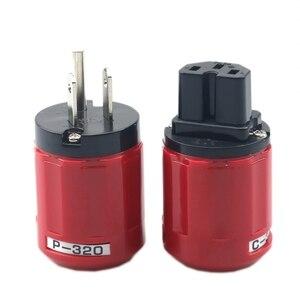 Image 2 - Oyaide enchufe de corriente alterna Schuko (UE), P 320/C 320 de cobre, Ver conector IEC
