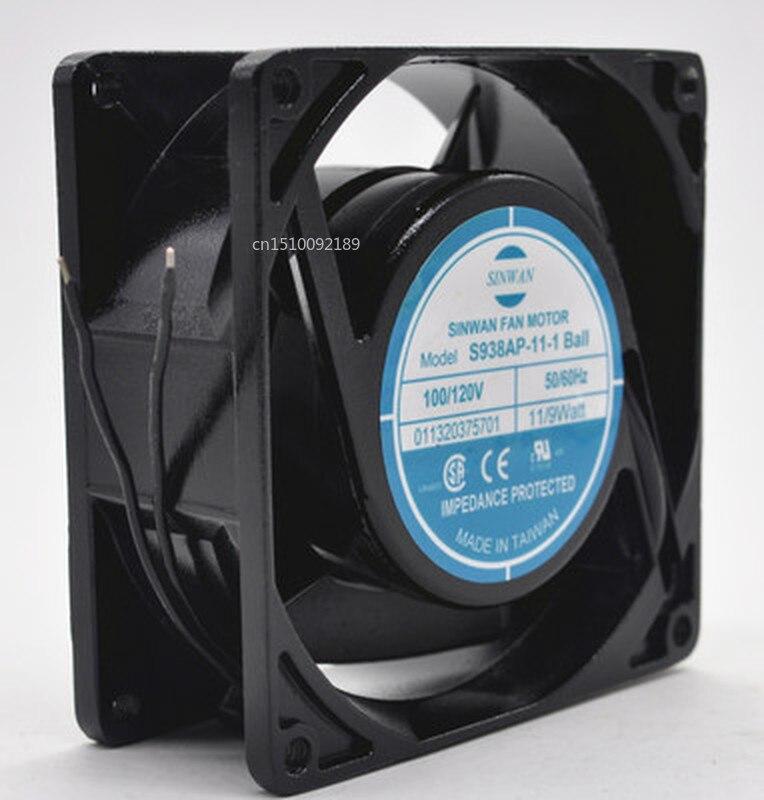For S938AP-11-1Ball 92*92*38 Mm AC 110V Double Roller Axial Fan Fan Letter Bay Free Shipping