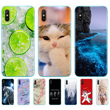 For redmi 9A Case Silicon soft TPU Back Cover For redmi 9A 6.53 inch funds etui bumper coque full 360 Protective copas cute(China)