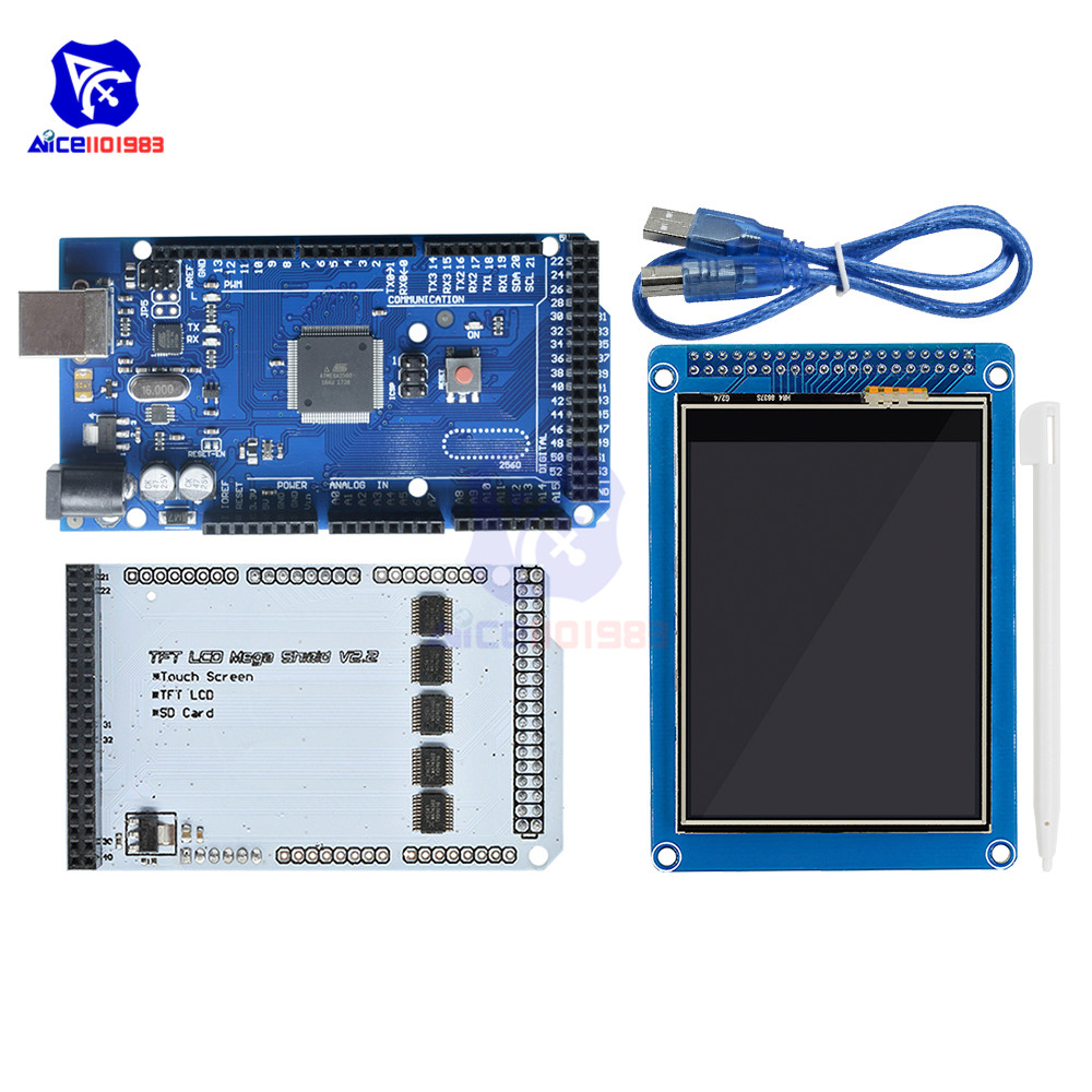 diymore Mega2560 Board with Cable <font><b>3.2</b></font>