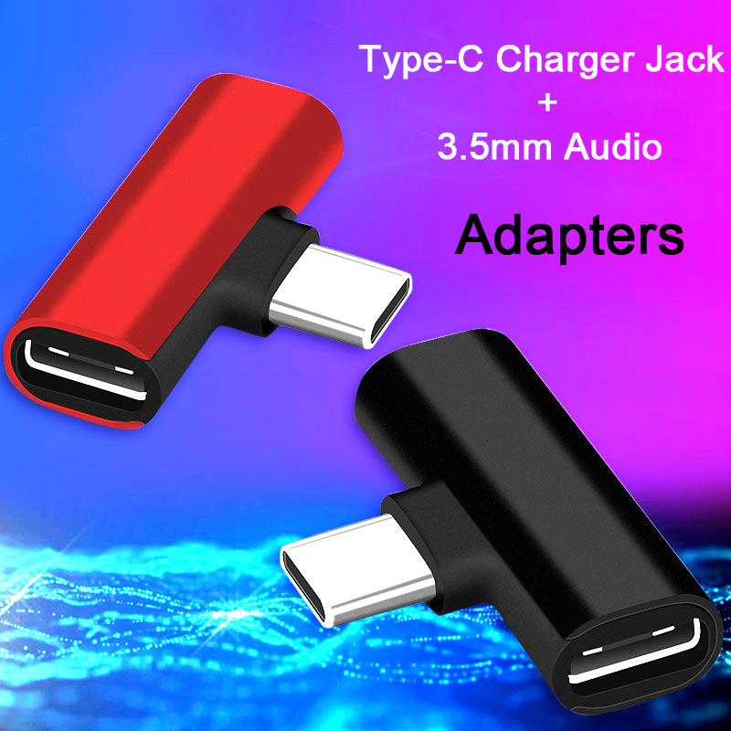Mini Portable Type C Charger Adapter To 3.5mm Jack Earphone Charging Converter USB Type-C Audio Adapters Headphone For Honor 20