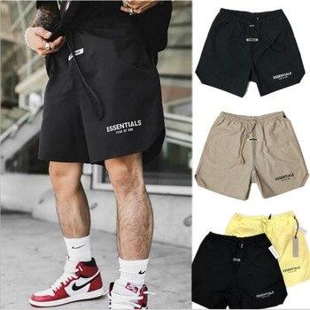 Men's workout shorts streetwear sweatpants