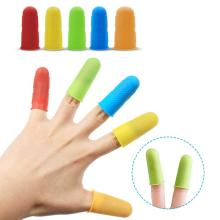 3/5 Pcs Multifunctional Fingertips Gloves Latex Rubber Antislip Finger Cutter Protector For Garden Food Cutter Gloves Accessory