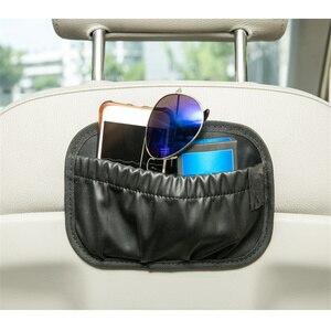 Image 2 - Portátil banco de carro lado volta saco armazenamento auto dashboard telefone organizador automóveis porta detritos bolso veículo estiva suprimentos