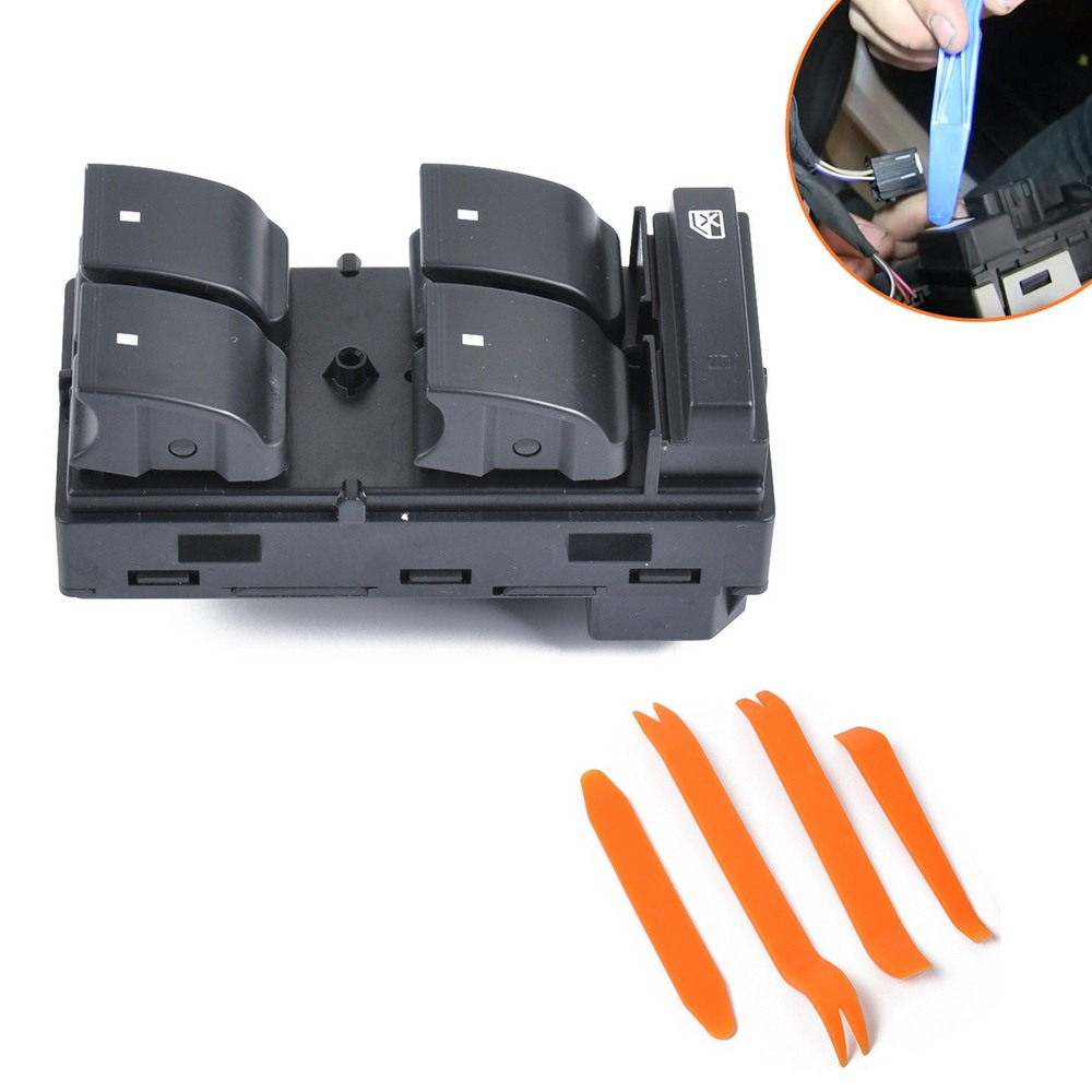 Power Window Switch Door Control Button Front Left Car Panel Master Lifter