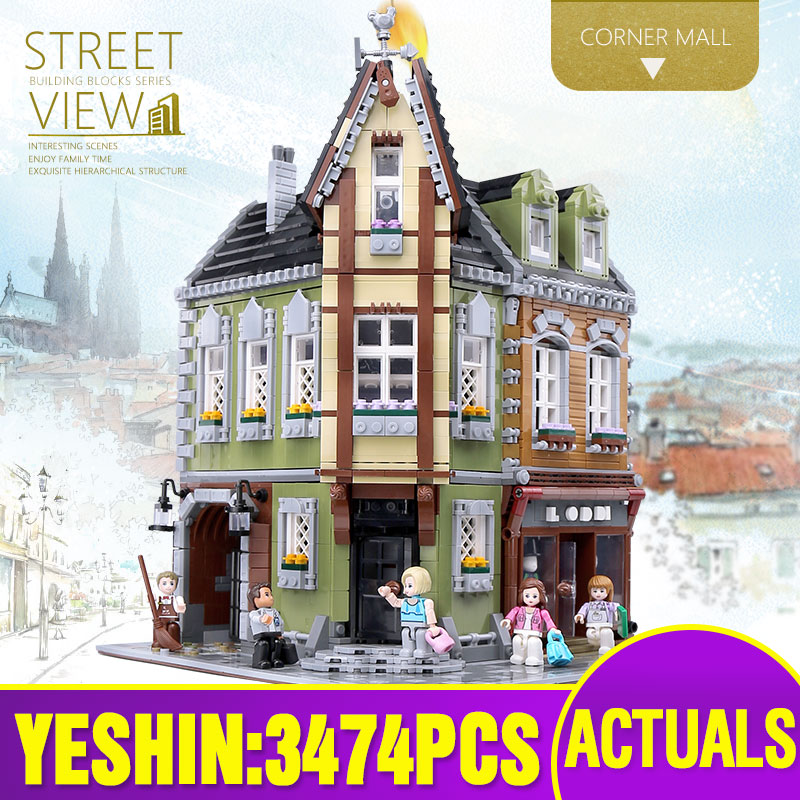 MOC City Street The MOC Victor's Lab Set Assembly Toys Model Kids Christmas Gifts Compatible With Lepining Building Blocks Brick