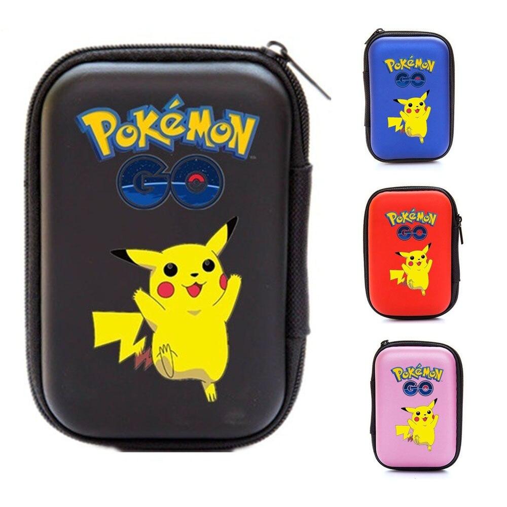 TOMY 50pcs Capacity Pokemon TCG card storage bag Pokemones game Pokmon card storage box Top Loaded List Toys
