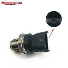New 1800 Bar Fuel Rail Pressure Sensor For Ford Ranger Everest Mazda BT-50 BT50 2.5 3.0 2008 0281006018 WE01-13-GC0