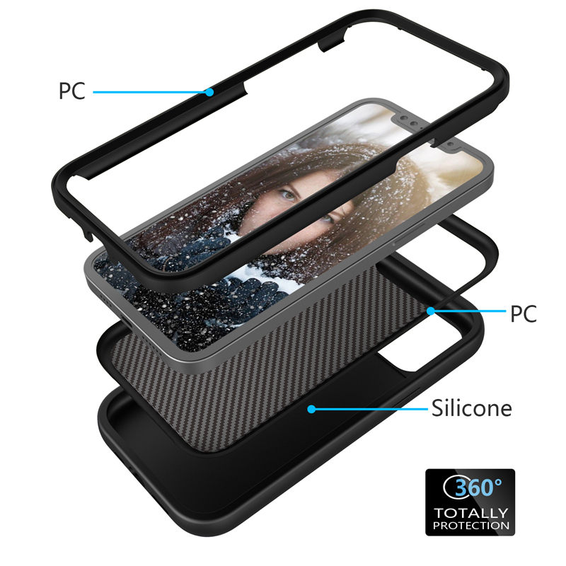 Shockproof Bumper Armor Phone Case For iPhone 12